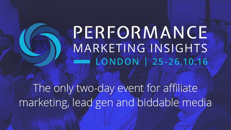 Performance Marketing Insights: London 2016